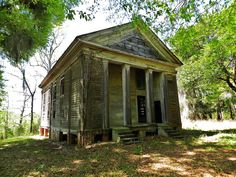 45 Must See Haunted Places - 01 Built in the mid-19th century, this abandoned Greek Revival church has claimed enough paranormal activity to have several research groups conduct investigations.