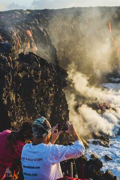 Early Morning Kilauea Lava Flow From Volcanoes National Park | Exploration: Hawaii