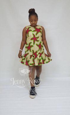 2019 Beautiful Ankara Styles for Children Ankara Styles For Kids, African Dresses For Kids, Latest African Fashion Dresses, African Print Dresses, African Print Fashion, Girls Dresses, Ankara Fashion, African Prints, Dress For Girl Child