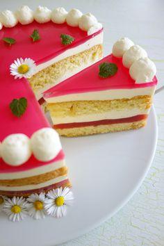 Rhabarber - Vanille - Torte