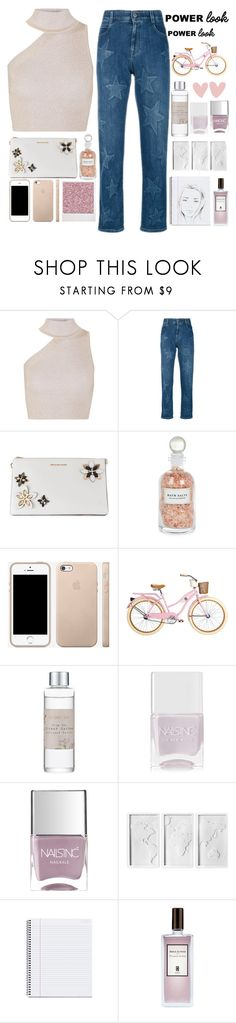 """💓."" by parkmona ❤ liked on Polyvore featuring Cushnie Et Ochs, STELLA McCARTNEY, MICHAEL Michael Kors, Mullein & Sparrow, Polaroid, Shabby Chic, Nails Inc., Umbra and Serge Lutens"