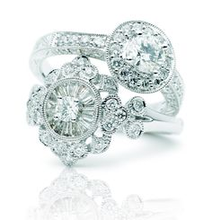 Rosendorff Diamond Cocktail Rings