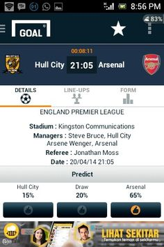 Aku siap. :D Hull City v Arsenal. BPL MD35. #Arsenal #AFC #HULARS Come On You Gunners, VCC