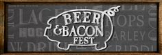 http://triangleartsandentertainment.org/wp-content/uploads/2013/12/BeerandBaconFestivalNC-e1386339334143.jpg - BEER & BACON FESTIVAL -  BOTTOMS UP, BACON DOWN! 75 Craft Beers, 15 Restaurants, 10 Bacons from across the U.S. and lots of Piggy Love!  This all-new Festival is an ALL-YOU-CARE-TO-TASTE extravaganza complete with the best craft beers for your tasting pleasure…paired with the food from the Gods: BACON. Guests enjoy a s... - http://triangleartsandentertainment.org/e