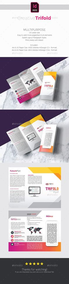 #Trifold - #Corporate #Brochures