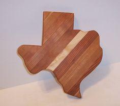 TEXAS Cutting Board Cheese Board | TRocheWoodDesigns - Housewares on ArtFire