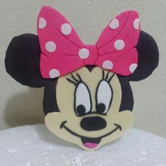 Minnie mause de fondant