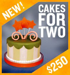 Charm City Cakes for Two (perhaps I am not charging enough ?!?!? LOL)