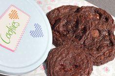 Schoko-Cookies mit Nappo // Rezept gibt's auf meinem Blog ofengefluester.de
