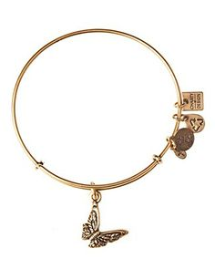 Alex and Ani Butterfly Bangle | Bloomingdale's WANT IN SILVER