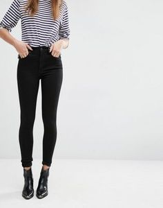 Levi's High Waist Super Skinny Jeans http://www.deal-shop.com/product/vicvik-woman-knee-skinny-denim-distressed-ripped-boyfriend-jeans-m/