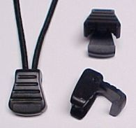 Strap Keepers, Acetal Loops, Zipper Pulls, Belt Clips, Acetal D Rings