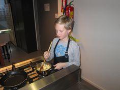 Niels maakt de appels