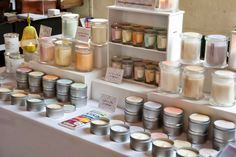 Image result for store displays of candles