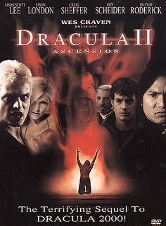 Dracula 2000 (DVD, for sale online Horror Films, Horror Stories, Dracula 2000, Hip Hop Movies, Vlad The Impaler, Wes Craven, Prince Of Darkness, Creatures Of The Night, Movie Photo