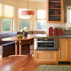 Create a Custom Eat-In Kitchen