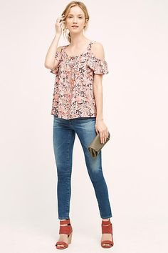 AG Middi Mid-Rise Ankle Jeans