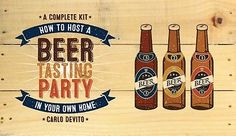 How to host a beer tasting #party in your own home: a #complete kit #(hardcover),,  View more on the LINK: 	http://www.zeppy.io/product/gb/2/131759442011/