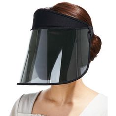 SO not fashionable UV protection sun visor! Click photo for the fashionable…