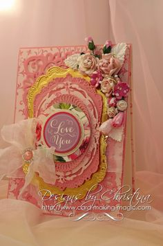 Flowers, Ribbons and Pearls: Mix & Match your Spellbinders ...