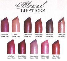 Fashion Fair Lipstick Color Chart | Lipsticks Colors
