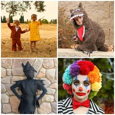 10 DIY Halloween Costumes for Kids - Blissfully Domestic