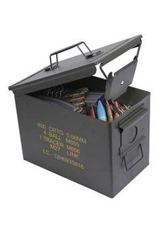 #Buy Cheap .50 Caliber Fat Mil Spec Ammo Cans / Gorillasurplus.com
