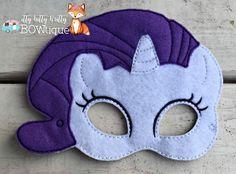 Rareza My Little Pony inspiró la máscara.