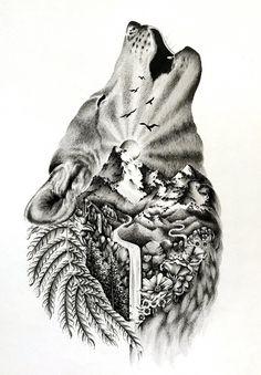 Wild tattoo best sleeve tattoos, wolf tattoos и tattoo desig Wolf Sleeve, Wolf Tattoo Sleeve, Best Sleeve Tattoos, Sleeve Tattoos For Women, Tattoo Sleeve Designs, Cute Tattoos, Tattoo Designs Men, Body Art Tattoos, New Tattoos