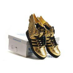 release date: d193c 384c1 New Arrival Men adidas ObyO Jeremy Scott JS Wings 2.0 gold For £84.19 Jeremy  Scott