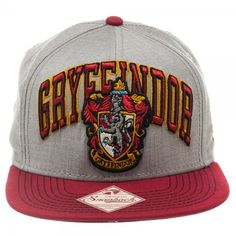 Harry Potter Gryffindor Snapback. Want. Want. Want.