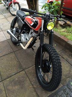 honda 125cc tracker no cafe racer / scrambler