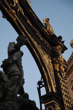 Statue in Stanislas Square