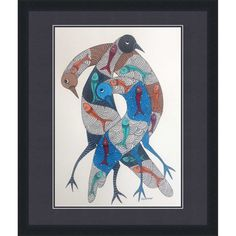 Dilip Shyam: Birds and Fish
