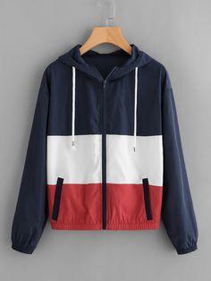 Retro Windbreaker, Windbreaker Outfit, Coats For Women, Jackets For Women, Clothes For Women, Women's Jackets, Casual Fall, Casual Wear, Mode Hijab