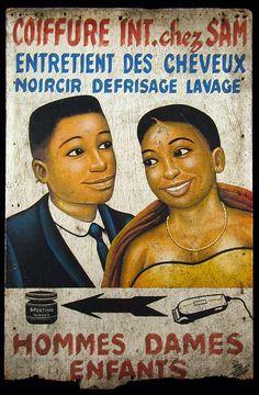 barber shop signs/africa -