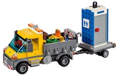 We finally have some better images of just about all of the recently leaked 2015 Lego City sets. The most important of these is the above Service Truck (60073) which comes complete with a portable toilet—which is even weirder than Speedo minifig. There are some other great sets as well.