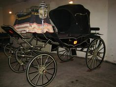 old horse carriages