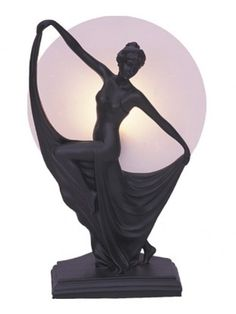 Art Deco Table Lamp Boelyn by G & G Brothers. Get it now or find more Lamps at Temple & Webster. Art Nouveau, Art Deco Table Lamps, Art Deco Furniture, Art Deco Era, Art Deco Design, New Art, Glass Art, Lights, Beautiful