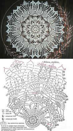 Ideas For Crochet Lace Top Pattern Doilies Free Crochet Doily Patterns, Crochet Doily Diagram, Crochet Motif, Crochet Lace, Crochet Tablecloth Pattern, Crochet Coaster, Crochet Dollies, Lace Doilies, Thread Crochet