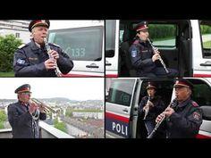 Die österreichische Bundeshymne interpretiert von der Polizeimusik OÖ: - YouTube People, Baseball Cards, Videos, Sports, Youtube, Police, Musik, Hs Sports, People Illustration