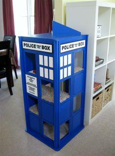 maison bleue chats