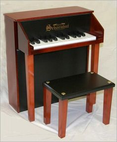 Schoenhut Designer Spinet. h1Schoenhut Designer Spinet_h1Schoenhut Designer Spinet.The lovely toy-piano sound is what makes our Schoenhut merchandise charming and unique. This designer Spinet will have your child playing like Little Mozart in no ti.. . See More Pianos at http://www.ourgreatshop.com/Pianos-C1106.aspx
