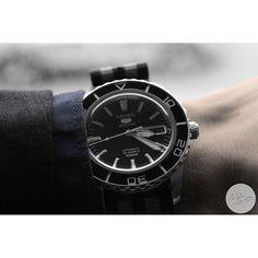 My name is Bond ...James Bond........Seiko snzh55k1 (Glossy) on a nato from Cheapestnatostraps.com  | SnapWidget