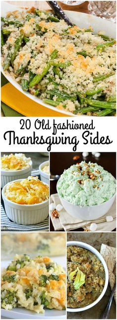 Old Fashioned Thanksgiving Side Dishes plus Butterball gift card giveaway