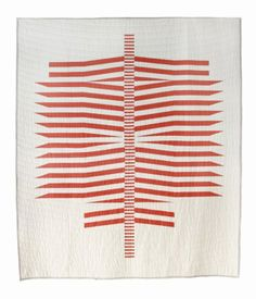 Surprisingly elegant, the Spine quilt references traditional patterns on Navajo blankets. Available through the Dwell Store, $600.