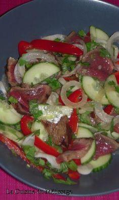 Recette - Salade de boeuf à la Thaïlandaise | 750g