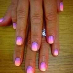 My Ibiza nails ❤️