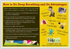 Most of us pay no attention to how we are breathing. It's just something our body does automatically. But often our breathing is too shallow, which is not good for our health. Deep breathing should be a part of your everyday life. It will help you live longer as well as make you happier, more …
