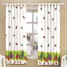 cortinas para cozinha de varao